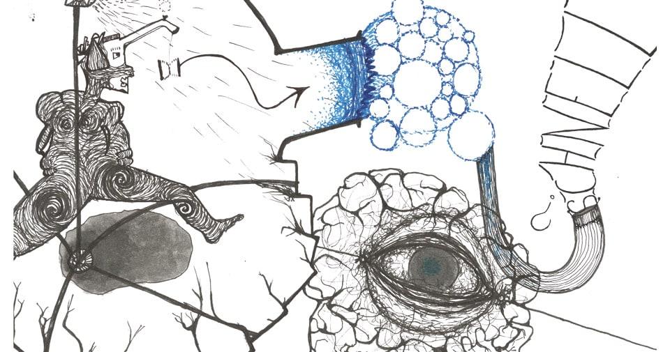 Illustration: Laufende Person
